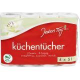 Jeden Tag Küchentücher Classic 3-lagig