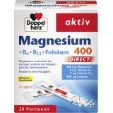 Doppelherz aktiv Magnesium 400 + B6 + B12 + Folsäure Direct Beutel