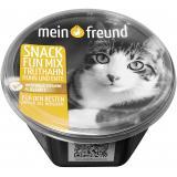 Mein Freund Katze Snack Fun-Mix mit Truthahn, Huhn und Ente