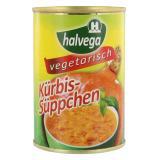 Halvega Kürbis-Süppchen