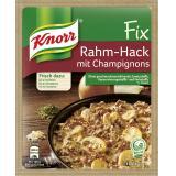 Knorr Fix Rahm-Hack mit Champignons