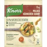 Knorr Natürlich lecker! Hähnchen Curry