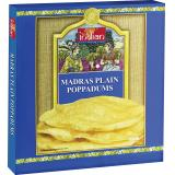 Truly indian Madras Plain Poppadums