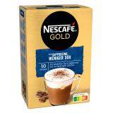 Nescafé Cappuccino weniger süß im Geschmack