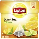 Lipton Black Tea Citrus Pyramidenbeutel
