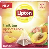 Lipton Fruit Tea Apricot Peach Guava Pyramidenbeutel