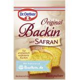 Dr. Oetker Backin mit Safran
