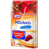 Dr. Oetker Süße Mahlzeit Milchreis klassisch Teddybär gratis