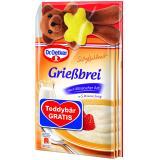 Dr. Oetker Süße Mahlzeit Grießbrei klassisch Teddybär gratis