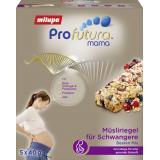 Milupa Profutura Mama Müsliriegel für Schwangere Beeren Mix
