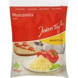 Jeden Tag Mozzarella gerieben