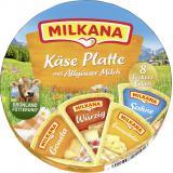 Milkana Käse-Platte Schmelzkäse-Ecken