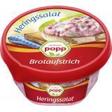 Popp Brotaufstrich Heringssalat mit Rote Bete