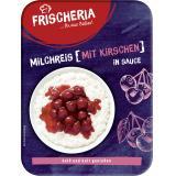 Frischeria Milchreis mit Kirschen