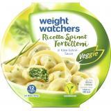 Weight Watchers Gut aufgetischt Ricotta Spinat Tortelloni