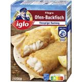 Iglo Filegro Traditioneller Ofen-Backfisch