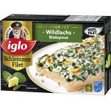 Iglo Feinschmecker Wildlachs mit Spinat