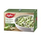 Iglo Rahm-Gemüse dicke Bohnen mit Speck