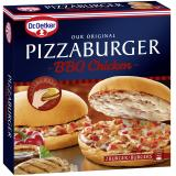 Dr. Oetker Pizzaburger BBQ Chicken