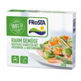 Frosta Rahmgemüse Rustikale Karotten mit Rosenkohl & Brechbohnen