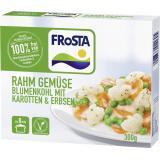 Frosta Rahm Gemüse Blumenkohl mit Karotten & Erbsen