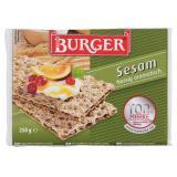 Burger Knäckebrot Sesam