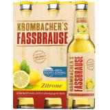 Krombacher's Fassbrause Zitrone