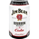 Jim Beam Bourbon Whiskey & Cola