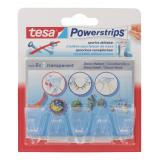 Tesa Powerstrips Deco-Haken transparent
