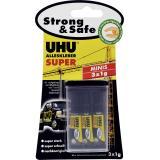 Uhu Alleskleber Super Strong & Safe Minis