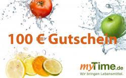 myTime.de Gutschein 100 EUR  - 2001010100627