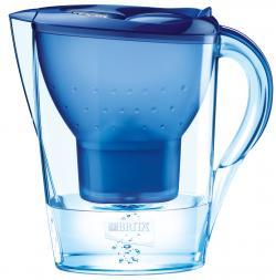 Brita Marella XL Tischwasserfilter blau + 1 Kartusche  - 4006387002756