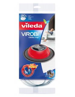 vileda ViRobi Einweg-Ersatztücher 136133  - 4023103156531