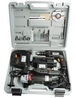 Mannesmann Werkzeugmaschinenset 4tlg. 12555  - 4003315701156