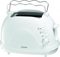 Bomann Toaster TA 246 CB weiß  - 4004470024609