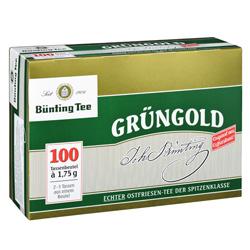Bünting Grüngold  (100 x 1,75 g) - 4008837210070