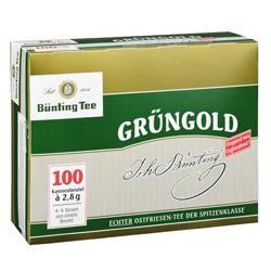 Bünting Grüngold  (100 x 2,80 g) - 4008837210087