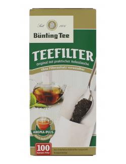 Bünting Teefilter mit Anfasslasche  (100 St.) - 4008837290072