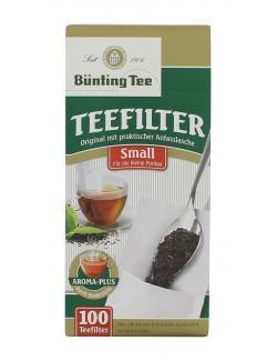Bünting Teefilter Small  (100 St.) - 4008837290096