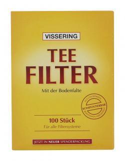 Bünting Vissering Teefilter  (100 St.) - 4008837950129