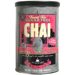 David Rio Flamingo Vanilla Decaff Chai  (340 g) - 0658564973379