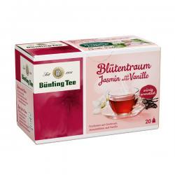 Bünting Blütentraum Jasminblüte Vanille  (20 x 2,50 g) - 4008837220529