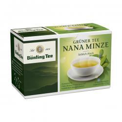 Grüner Tee Nana Minze  (20 x 1,75 g) - 4008837214160