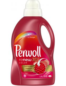Perwoll Brillante Farben Re-new Color Effekt 20 WL  (1,50 l) - 4015000308786