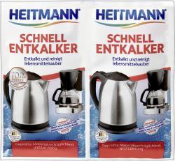 Heitmann Schnell Entkalker  (2 x 15 g) - 4052400033610