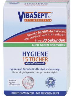VibaSept Hygiene Tücher desinfizierend  (15 St.) - 4010054004882