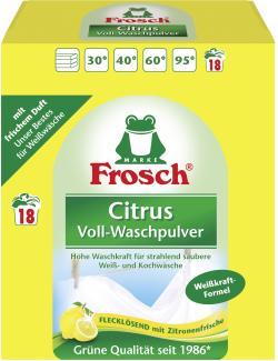 Frosch Citrus Voll-Waschpulver 18WL  (1,35 kg) - 4001499014147