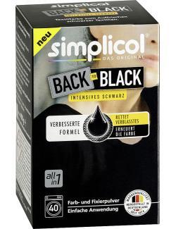 Simplicol Back to Black intensives Schwarz  (1 St.) - 4052400025110