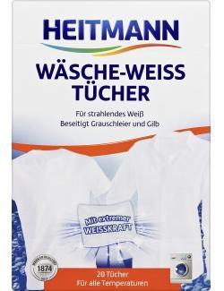Heitmann Wäsche-Weiss Tücher  (20 St.) - 4052400030107