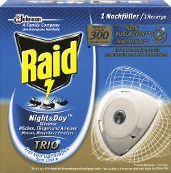 Raid Insekten-Stecker Night & Day Nachfüller  (1 St.) - 4000290001820